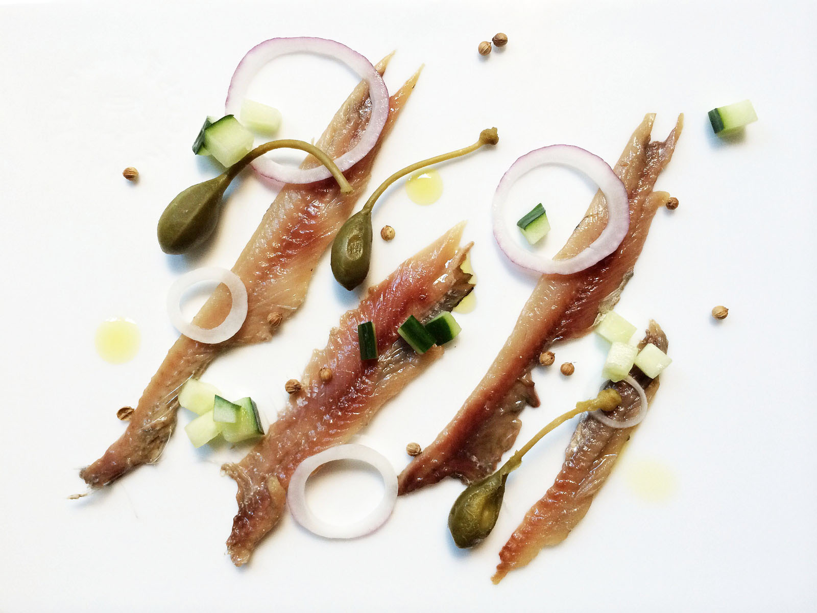 anchovies with almonds